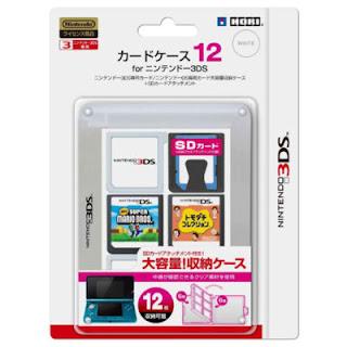 Nintendo 3DS Game Card Case - Hori