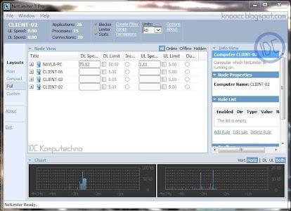Pembatas Bandwith: Net Limiter Pro 3