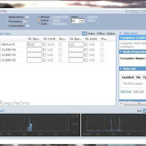 Setting dan Konfigurasi Net-Limiter Pro 3 untuk Windows 7 (Server dan Klien)