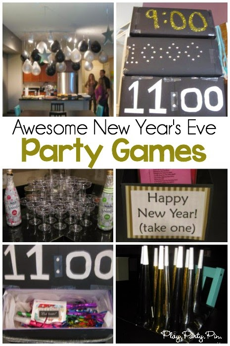 New Years Eve Kid Friendly Party Ideas