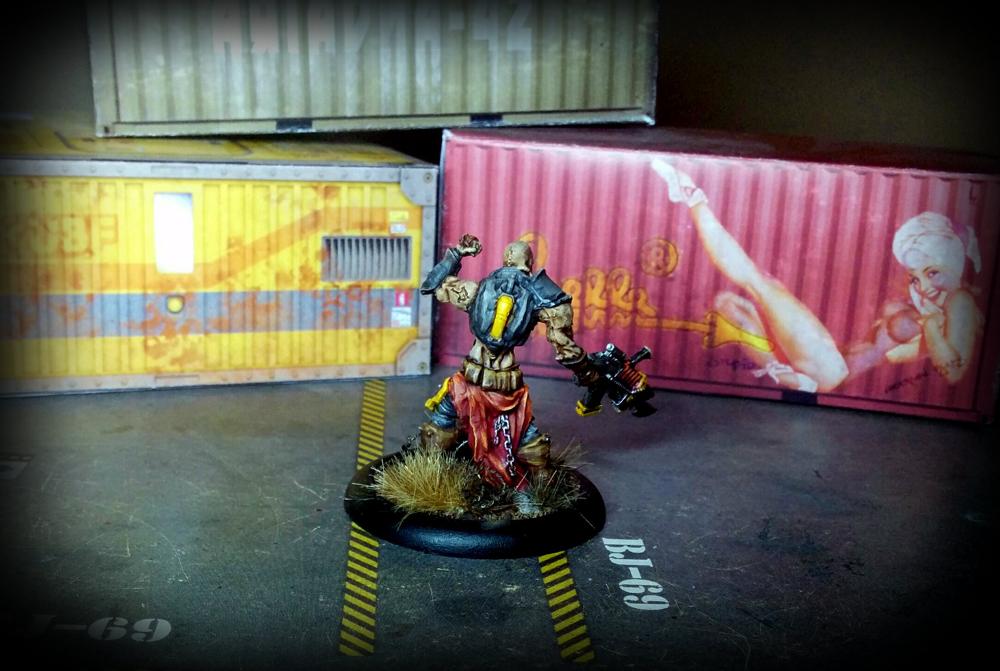 Warzone Resurrection - Necromutant Leader - Dark Legion - Algeroth - back