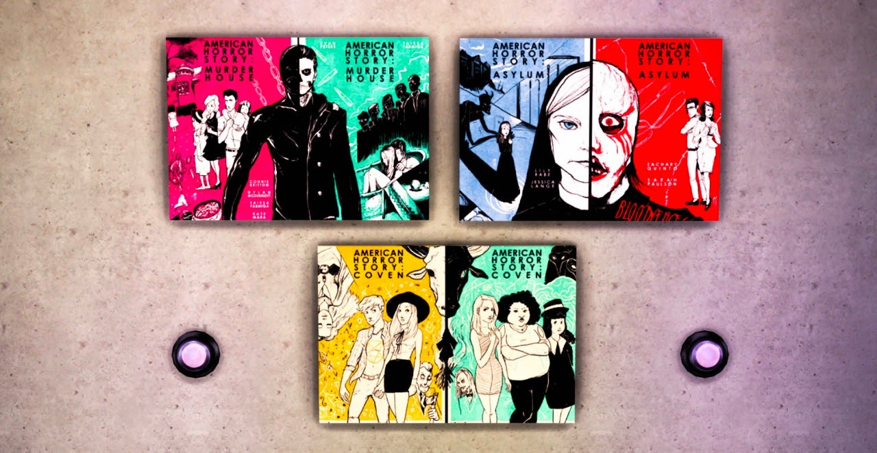 My sims 4 blog american horror story paintings by for American horror story wall mural