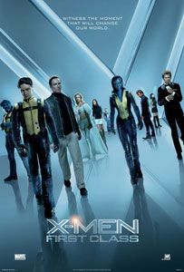 Cartel original de X-Men: Primera generación