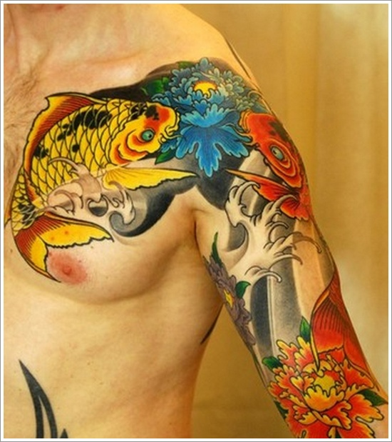 The most beautiful Koi Fish Tattoo for men and women