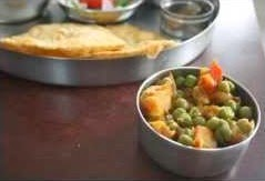 Simple Recipe - Potato Peas Curry