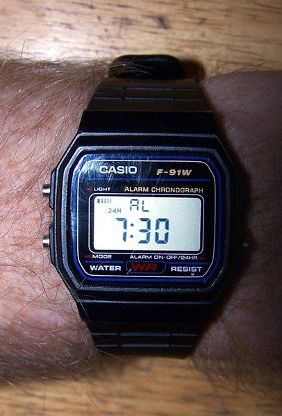 acdde3015f5 Opera Mundi -  Paulo Cesar Monteiro  Presos que usavam o relógio digital  Casio F-91W têm grandes chances de serem classificados pelas autoridades ...