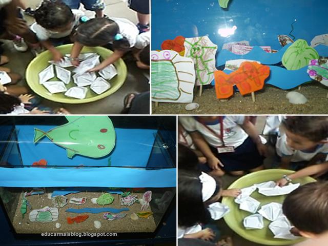 Super Dicas para projeto sobre Peixes - Educação Infantil | educa sempre BR12