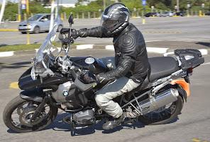 Limite Físico e de Segurança, da inclinação da moto. O que é isso? Venha ao Curso e descubra.