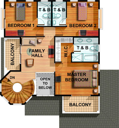 2 Storey House Designs And Floor Plans Philippines