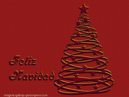 arbol de navidad granate