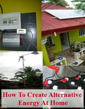 Learn How to Create Alternative Energy at Home