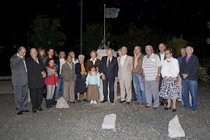 Homenaje a los cinco de San Lorenzo