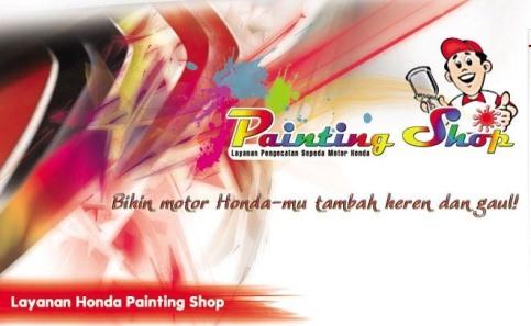 Honda painting shop kini sudah ada di Medan!