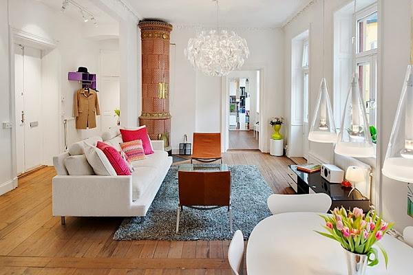 Apartamento 56 metros cuadrados for Decoracion piso 65 m