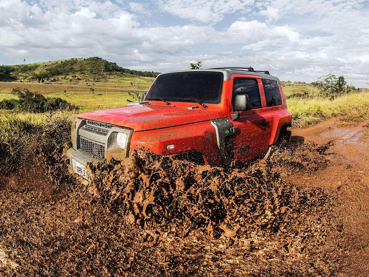 Novo Troller T4 2015 - test-drive off-road