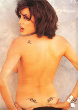 Celebrity Tattoo-Angelina Jolie
