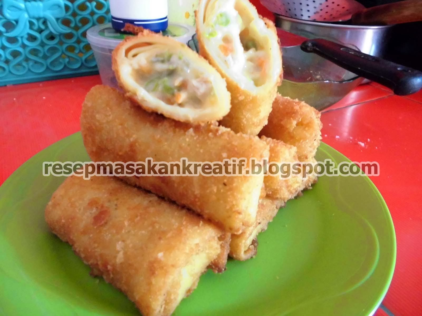 Resep Risoles Keju Mayonnaise Enak Resep Dapur Kita