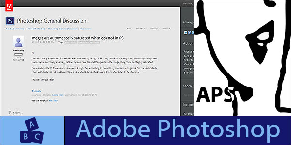 Adobe Photoshop friendly forum