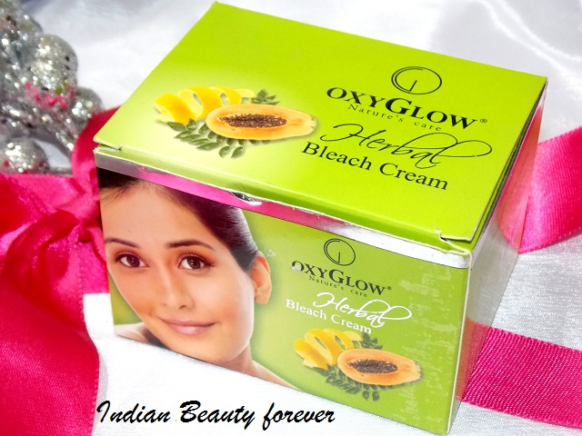 Oxyglow Herbal Cream bleach review how to use