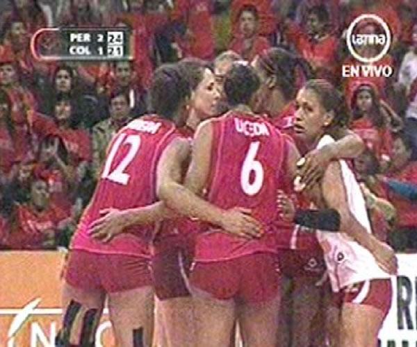 Perú ganó 3-1 a Colombia en última fecha de Sudamericano de Vóley 2011