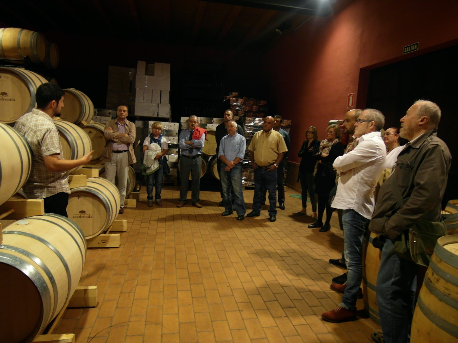 Asociacion De Sumilleres De Zamora Visita Bodega Divina Proporcion