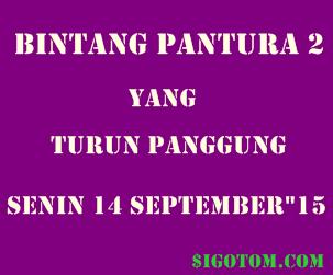 Bintang pantura 2 yang turun panggung Senin 14 september 2015