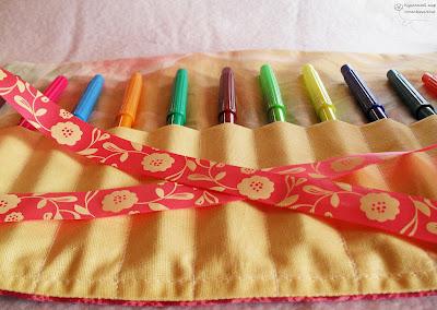 чехол для карандашей в стиле тильда
