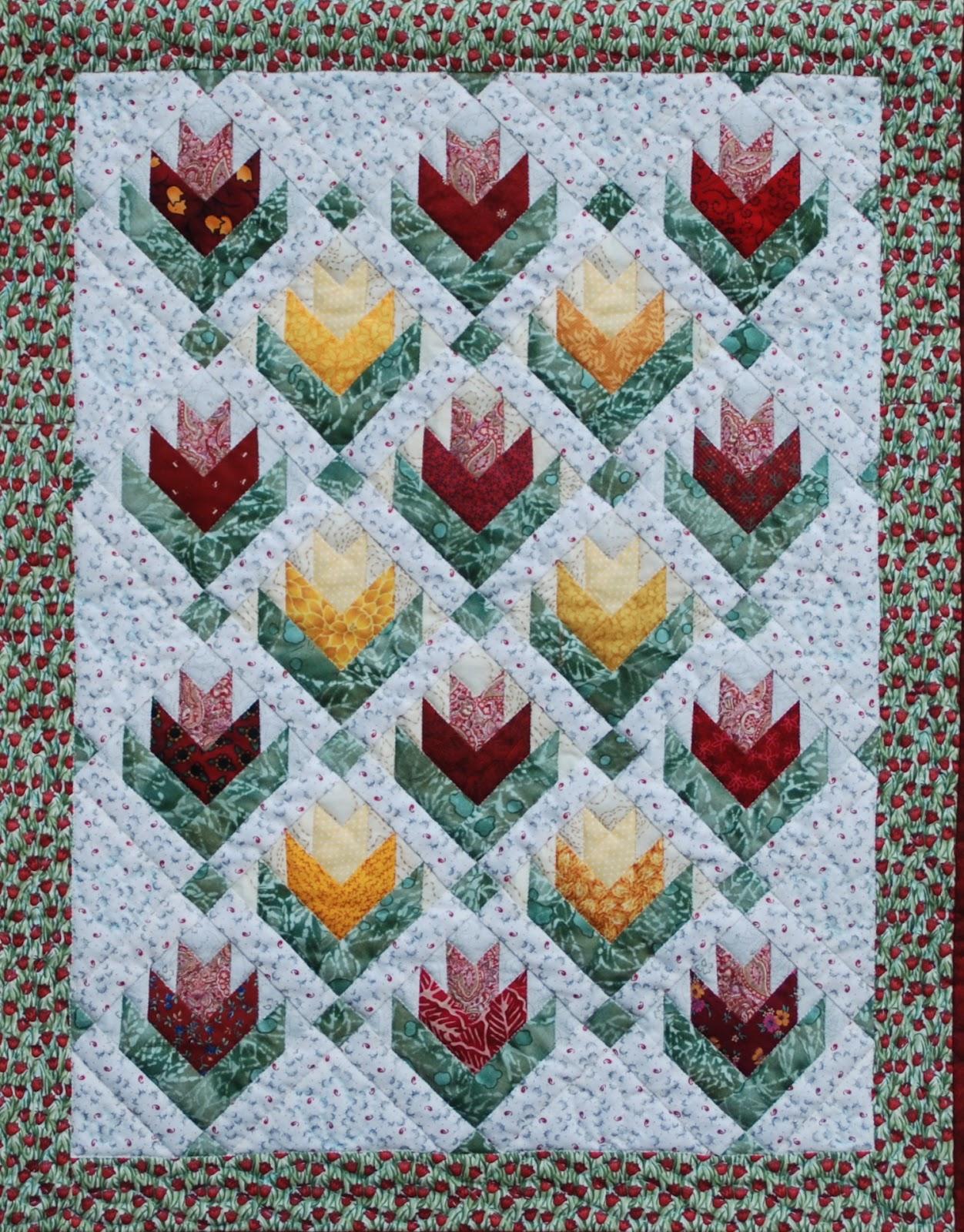 Mbw quilts en andere stofzaken - Quilts gele ...