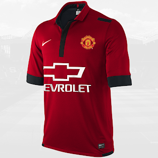 MANCHESTER UNITED CHEVROLET HOME JERSEY 2014 - 2015 [ LEAKED ]