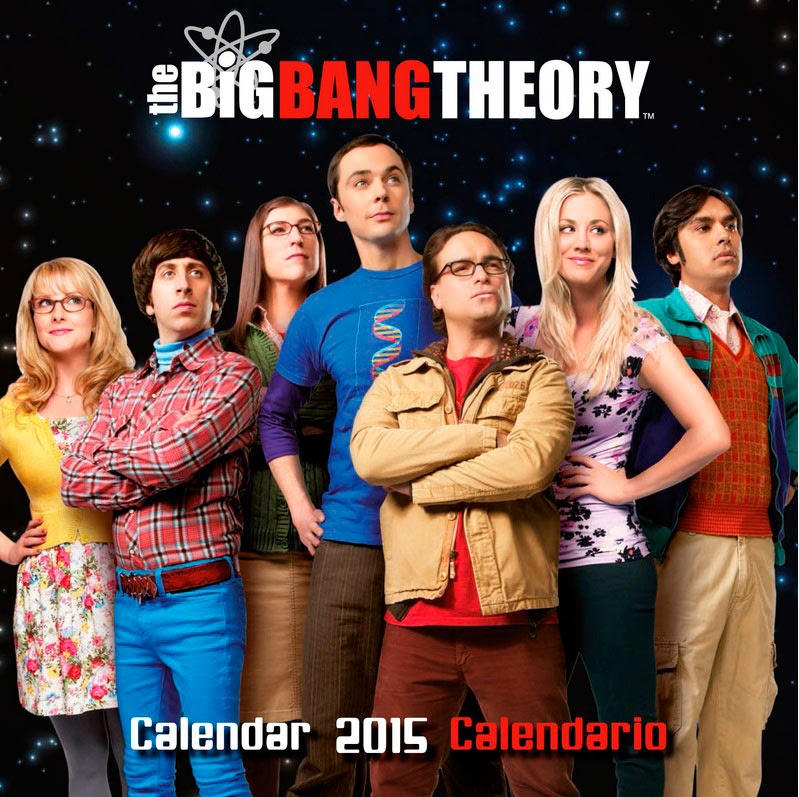 Calendario 2015 Big Bang Theory