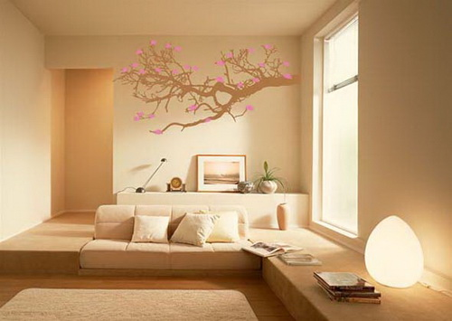 Living Room Wall Decor Ideas Bearing Modern Design