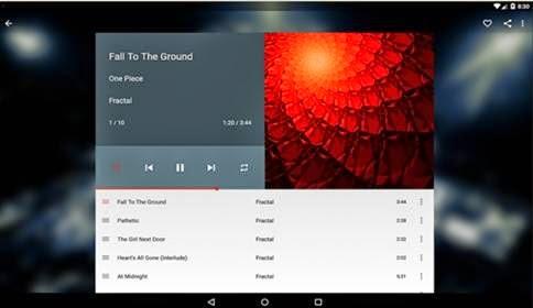 Aplikasi Music Player Menampilkan Lirik
