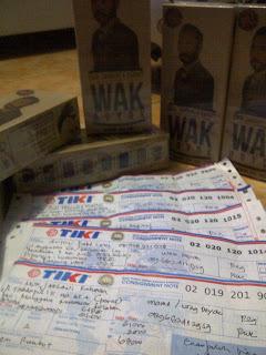 Ready Stock Wak Doyok Resi Pengiriman