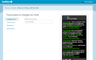 Personalizar el widget a tu manera
