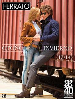 Catalogo de zapatos hombre Andrea ferrato verano 2016