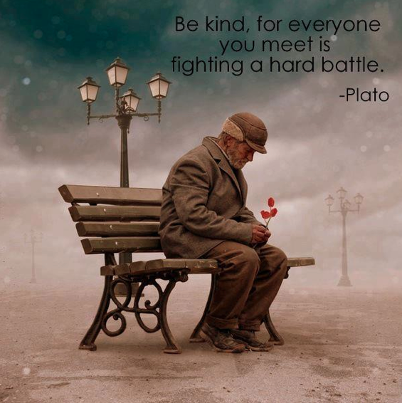 empathy, compassion, homeless, Plato, kindness, love, suicide, depression