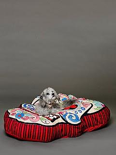 Sugar Skull Dog Bed