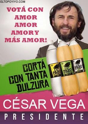 """Meme Humor : César Vega presidente vs Salvador (Paso de los Toros) Presidente """"Amor, amor, amor y más amor"""""""