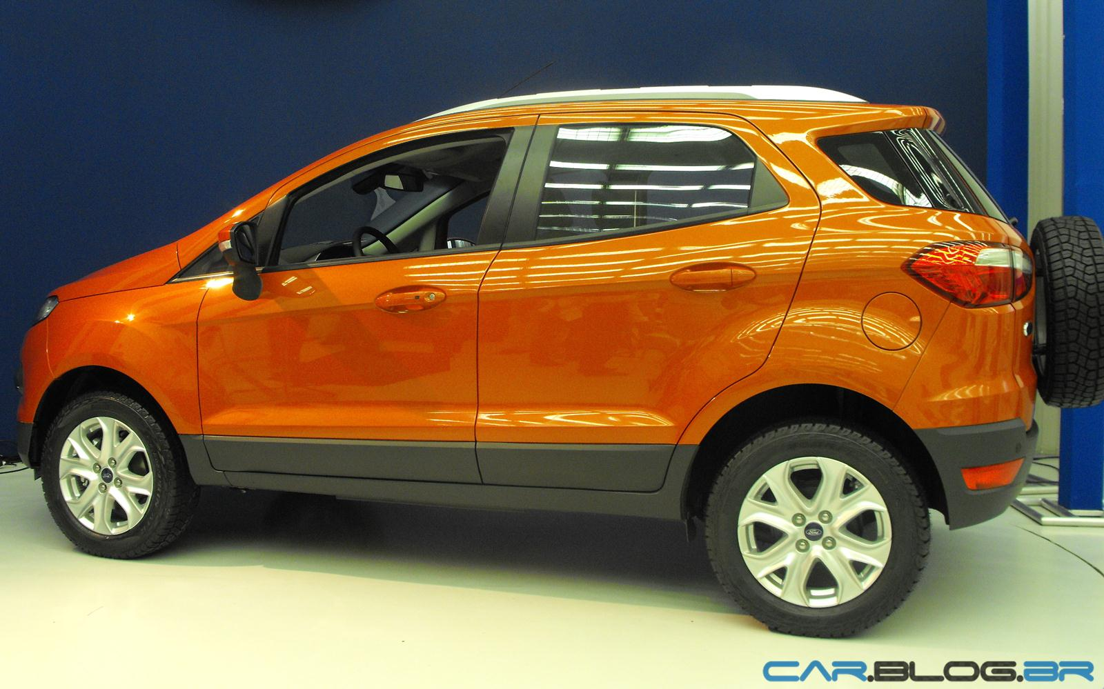 Ford new ecosport 2013 lateral