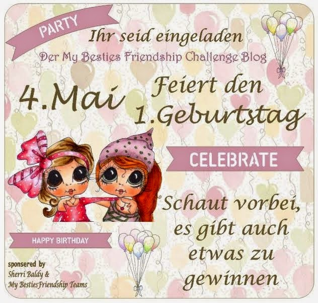 "Blog Geburtstag ""My Besties Friendship"""