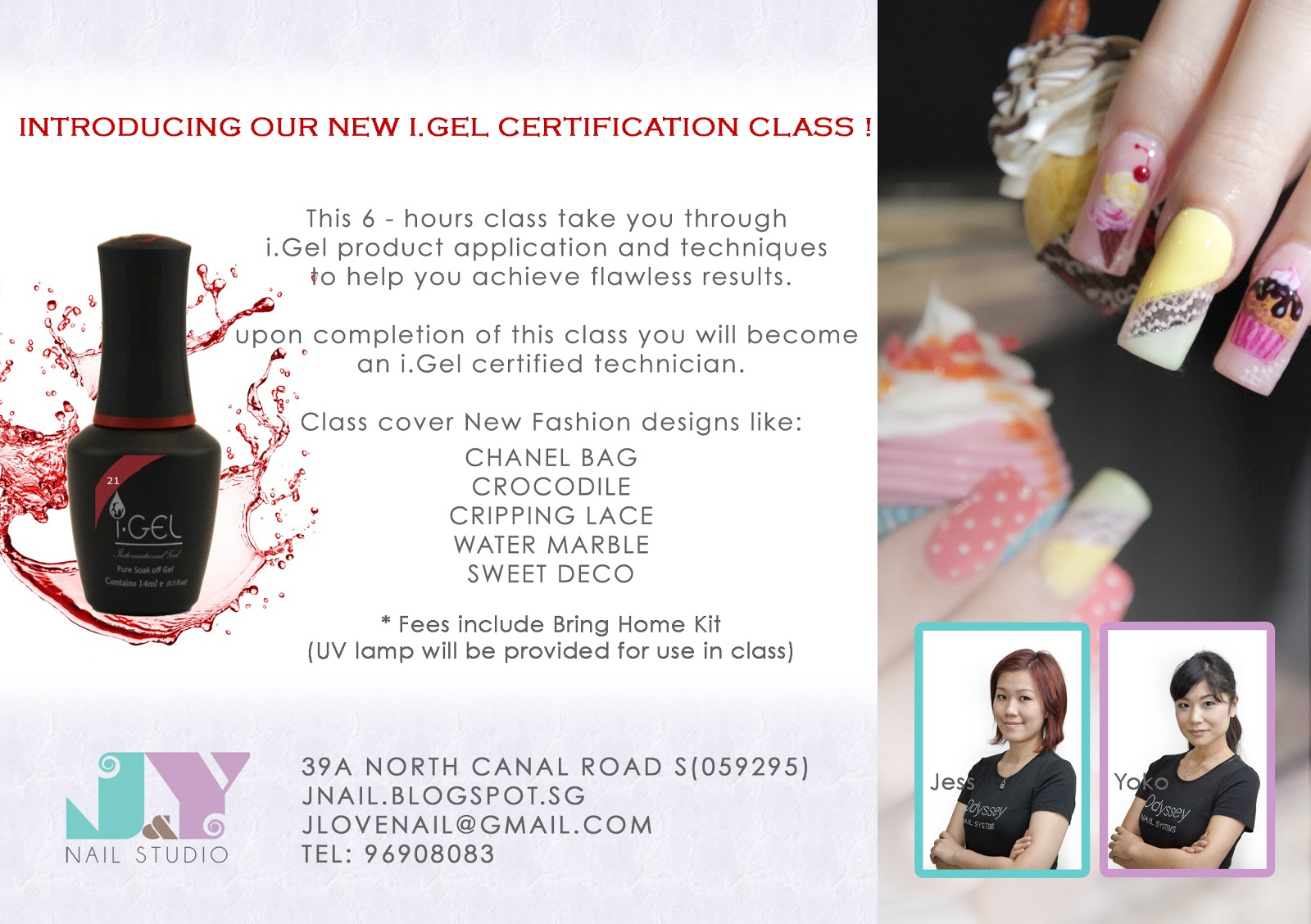 Dont Miss Our New I Gel Course Sign Up Before Its Too Late By J Nail Studio