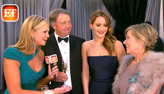 Jennifer Lawrence and Parents_ET
