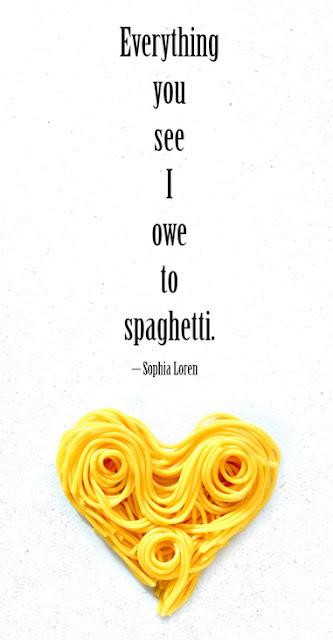 spaghetti, sophia loren