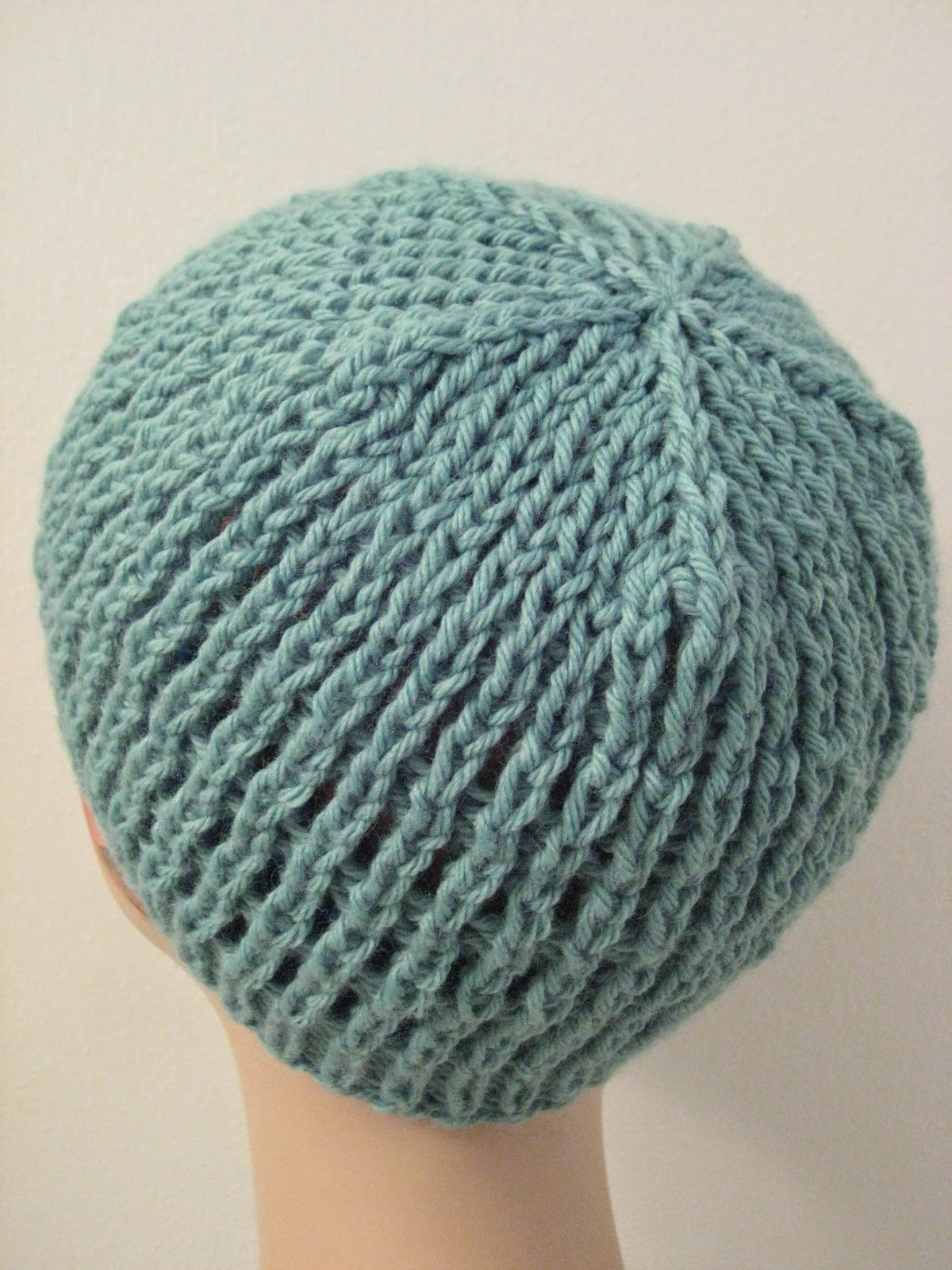 Slip Stitch Knit Hat Pattern : Balls to the Walls Knits: Slip-Stitch Mesh Hat