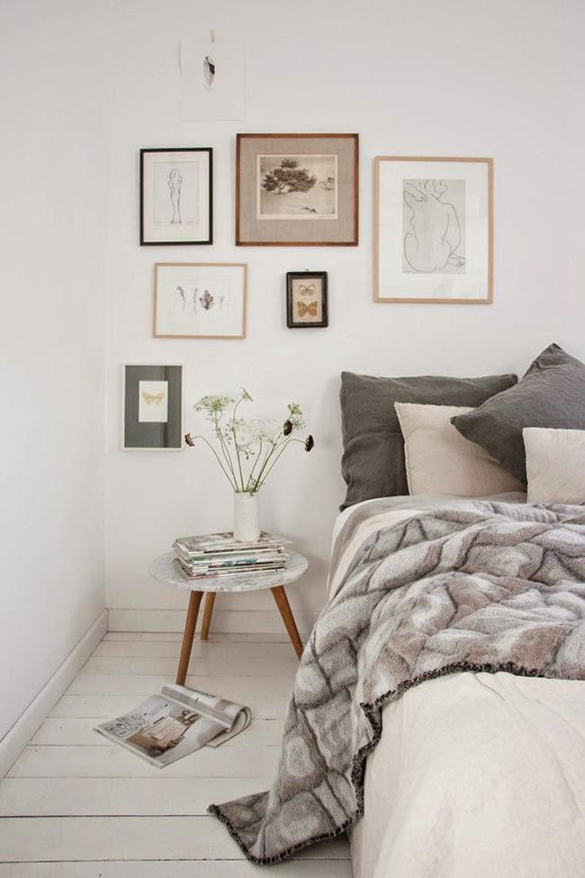 Decorare una parete con i quadri home shabby home - Decorare una parete ...