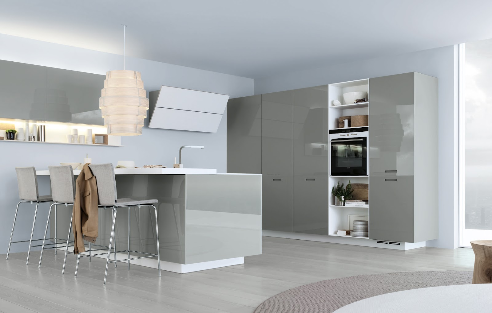 Kyton Varenna Poliform Giving Simplicity And Freedom For Your Kitchen  #604D3C 1600 1020 Veneta Cucine O Varenna