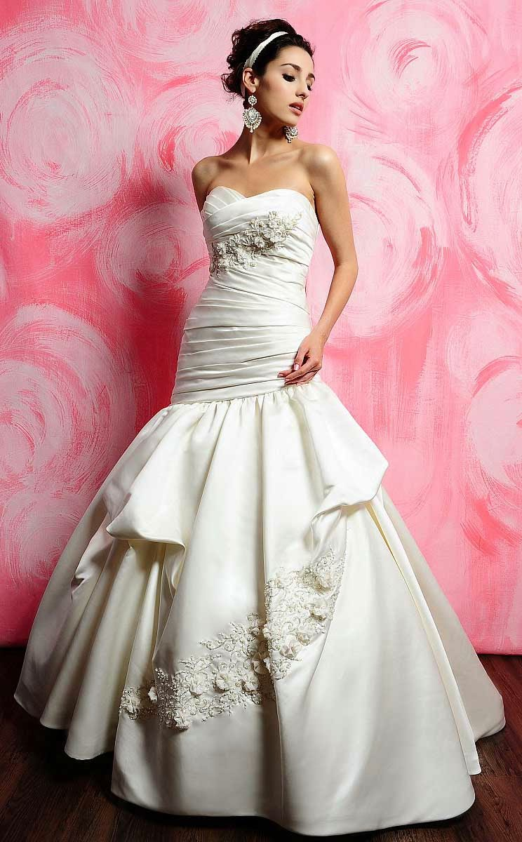 Expensive Beautiful Wedding Dresses without Sleeves Photos HD Ideas