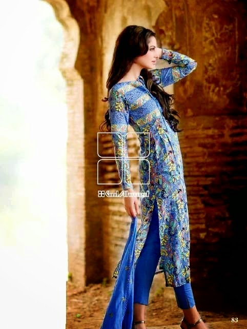 Latest Summer Collection by Gul Ahmed