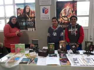 foto tomada por el staff de la Comunidad de Literatura Juvenil