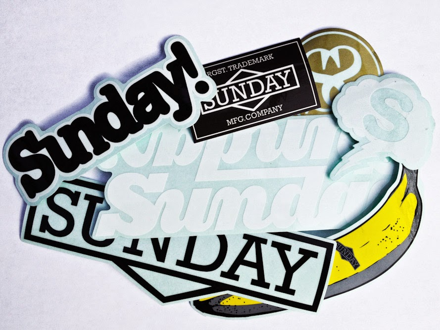pack de stickers SUNDAY $12.000